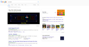 Pac-Man-Google-Game-Games-Hidden-Gems-Easter-Eggs-On-Occasion-Gifts-Funny-Cool